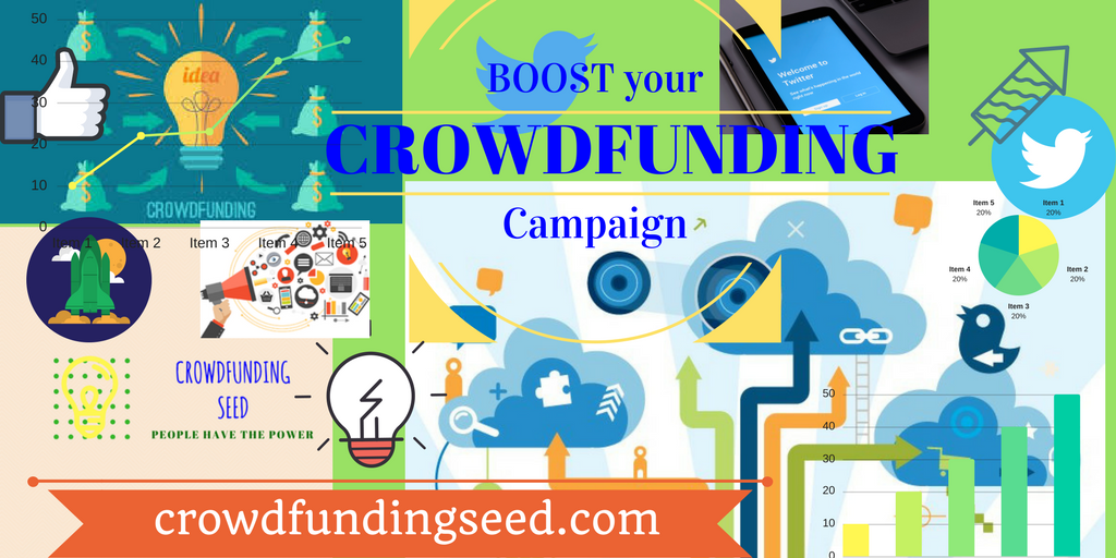 BOOST your crowdfunding